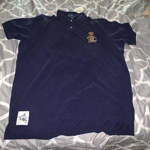 NWT Polo Ralph Lauren shirt blue size XL